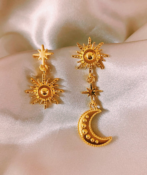 Soleil & Lune Earrings