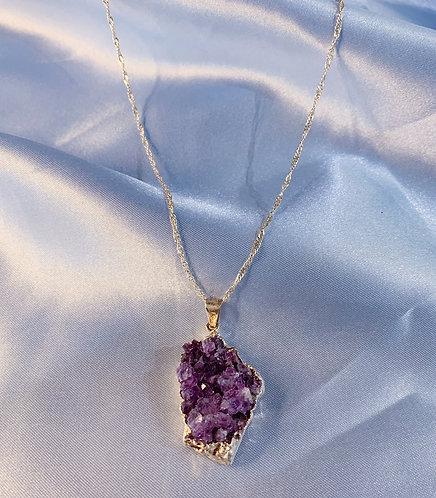 Amethyst Long Necklace