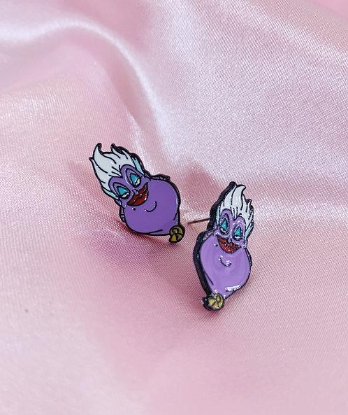 Ursula Villian Earrings