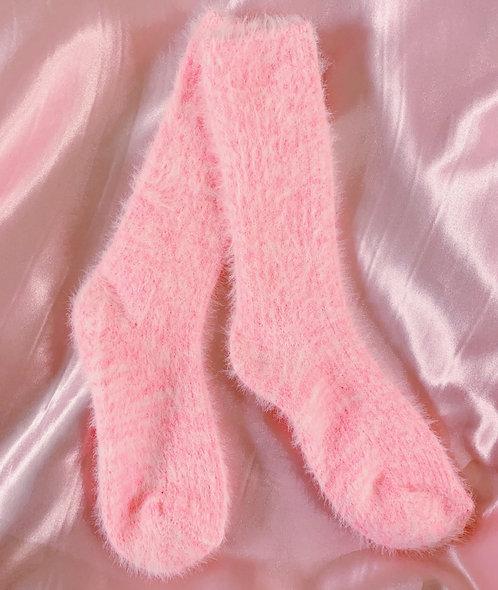 Fuzzy Stacy Socks