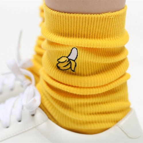 High Yellow Banana Socks