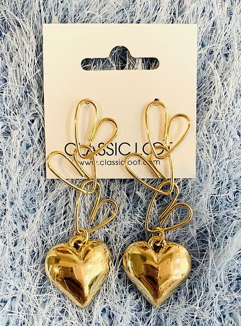 Soulmate Heart Earrings
