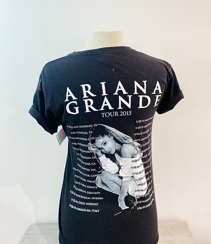 Ariana Grande 2015 Tour Tee, Sz S
