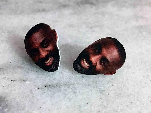 """""""Idris Mmm Hmm Elba"""" Earrings"""
