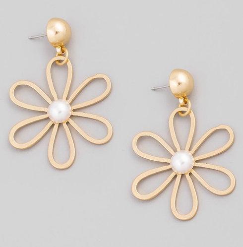 One Daisy Day Earrings