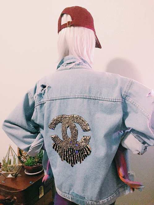 """Death by Designer"" Oversize Denim"