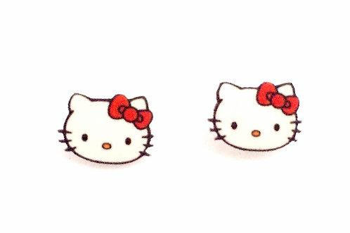 """""""Hello Kitty"""" Earrings"""