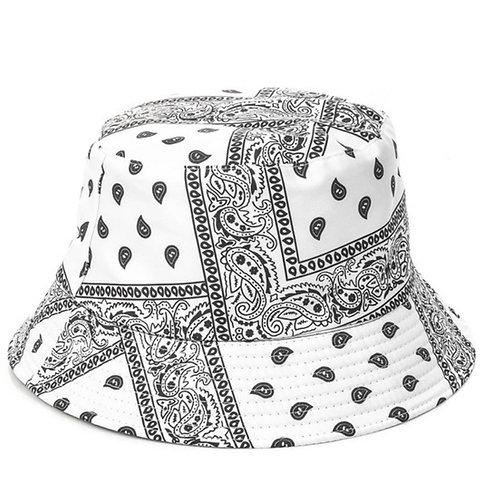 G Thang White Bucket Hat