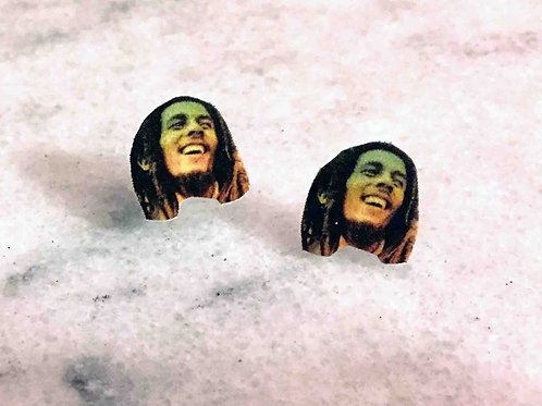 """Bob Marley"" Earrings"