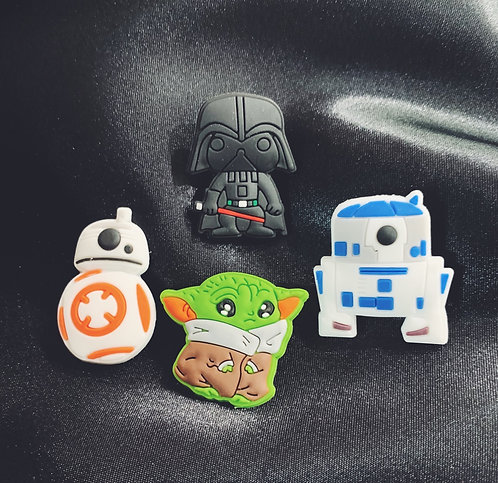 $tar Wars Croc Jibbit Charms Set of 4