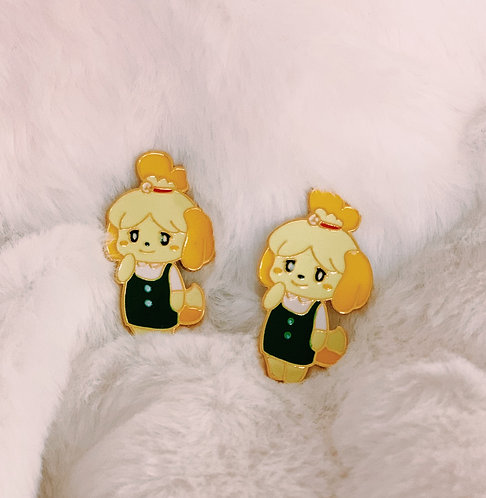 Isabelle - Animal Crossing Pin