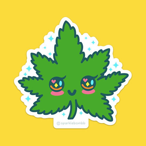 Sparklebombb Kawaii Mary Jane Sticker
