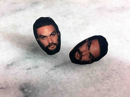 """""""Khal Drogo"""" Earrings"""