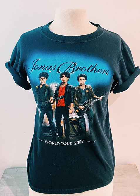 Jonas Brother 2009 World Tour Tee, Sz S