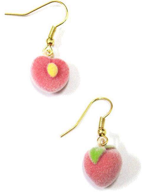 Peach Fuzz Earrings