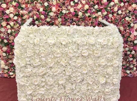 Bespoke Rose Flower DJ Booth