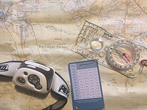 Night Navigation, Devon, Dartmoor, Navigation at night, navigation, navigation course,
