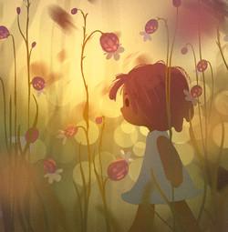 flower girl small