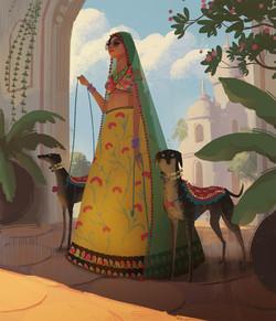 Rajput princess