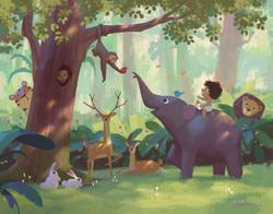 rana in the jungle