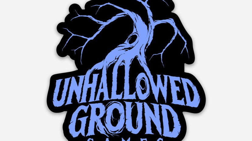 Unhallowed Ground Games Sticker