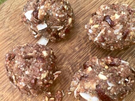 Nutty Seedy Yummy Energy Balls