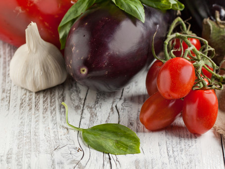 Israeli Mnazeleh.. spicy aubergine stew..