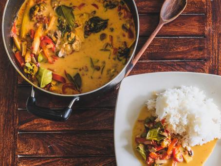 Fragrant Lemongrass & Ginger Thai Curry