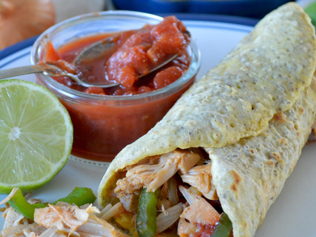Chicken Fajitas With a Spicy Salsa