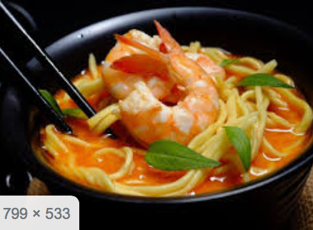 Simple Prawn Laksa