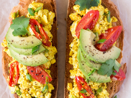 Chili Scrambled Tofu
