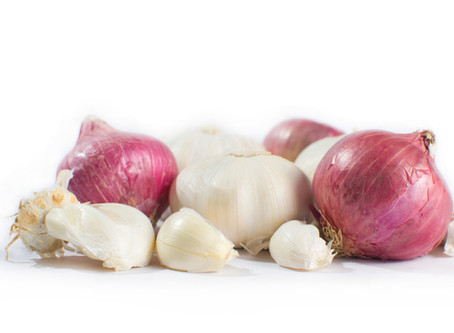 Reviving & Replenishing - Onion & Garlic Broth