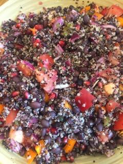Amazing Mexican Quinoa & Black Bean Salad
