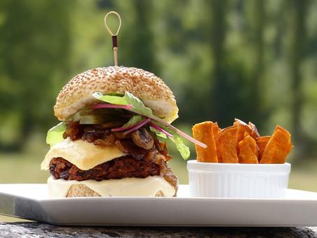 Bright & Beautiful Veggie Burger