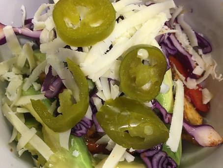 Veggie/Vegan Mexican Fajita Stack
