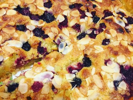 Amazing Blueberry & Raspberry Frangipane Tart