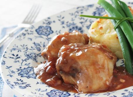 Slow Cooked Lamb Shanks Bourguignon