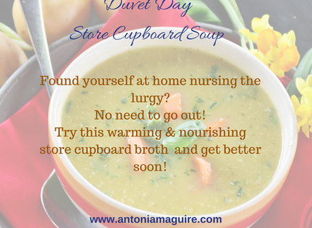 Duvet Day Store Cupboard Broth!