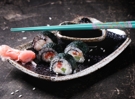 DIY Sushi Wraps