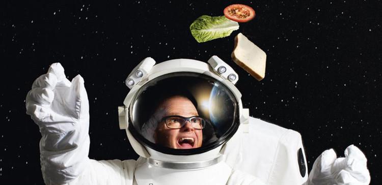 • Heston's Dinner in Space