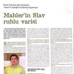 ŞOSTAKOVİÇ Üstüne Röportaj Ersin A