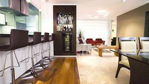 Ambientes integrados com estilo