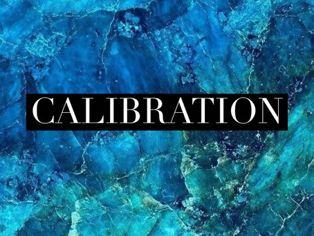 Calibration (Check In Before Checking Out)