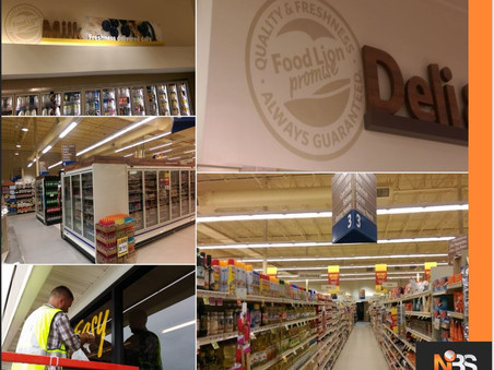 Food Lion Décor Package Roll-Out