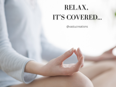 Relax, it's covered...