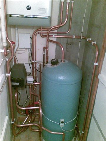 Commercial Cylinder Install