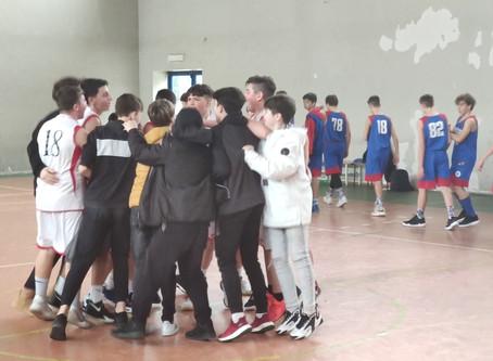 U14:Acilia-Anzio=74-40