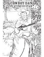 CowboyDan_ColoringBook_PlayingGuitar_Thu
