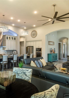 Luxury home staging in Manvel, TX