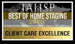 IAHS Client Care Excellence 2020 Award